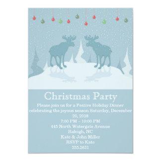 Christmas deers-Christmas Party Invitation