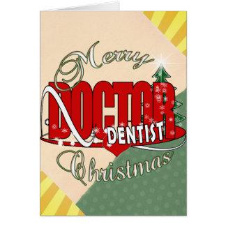 CHRISTMAS DENTIST CARD