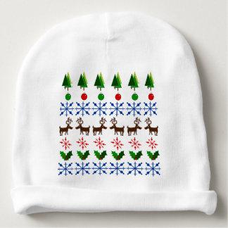 Christmas Design on Baby Hat
