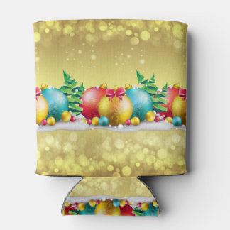 Christmas Design, Ornamental , Custom Can Cooler