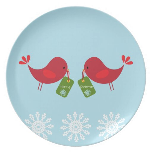 Christmas Dessert - Plate
