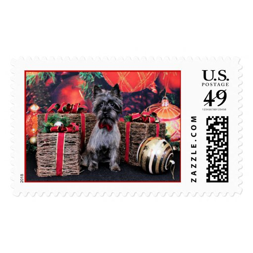 Christmas - Dexter - Cairn Postage Stamps