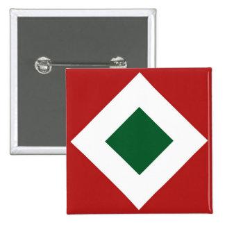 Christmas Diamond Pattern Button
