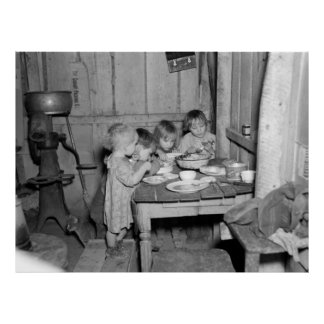 Christmas Dinner 1936 Poster