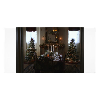 Christmas Dinner At The Mansion Card