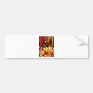 Christmas Dinner Bumper Sticker