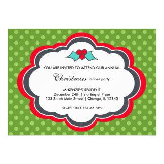 Christmas dinner invites