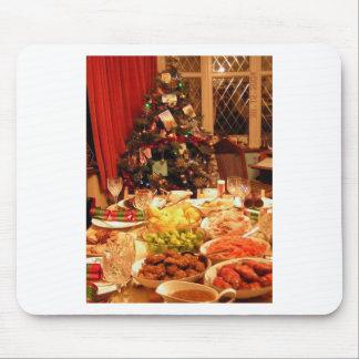Christmas Dinner Mouse Pad