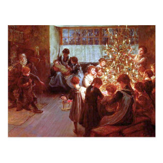 Christmas Dinner Postcard