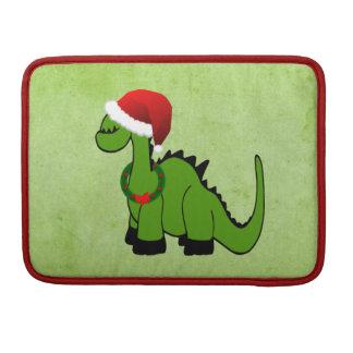 Christmas Dinosaur Sleeve For MacBooks