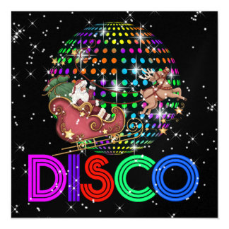 Christmas DISCO Party - SRF Card