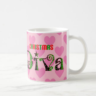 Christmas Diva Coffee Mug