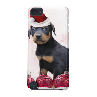 Christmas Doberman Pinscher dog iPod Touch (5th Generation) Case