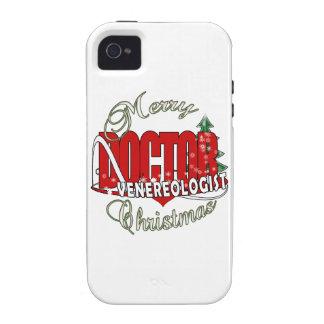 CHRISTMAS DOCTOR VENEREOLOGIST iPhone4 CASE