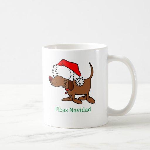 Christmas Dog Coffee Mugs