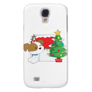 Christmas Dog House Samsung Galaxy S4 Cover
