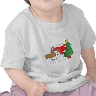 Christmas Dog House T-shirts