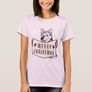 Christmas Dog:  Merry Christmas! T-Shirt