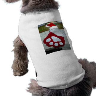 Christmas Dog Paw Stocking Dog Clothes