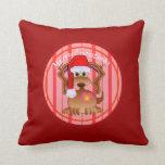 Christmas Dog pillow