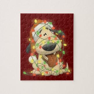 Christmas Dog Puzzle