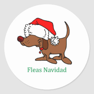 Christmas Dog Stickers
