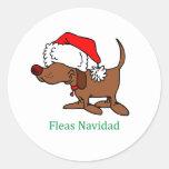 Christmas Dog Stickers