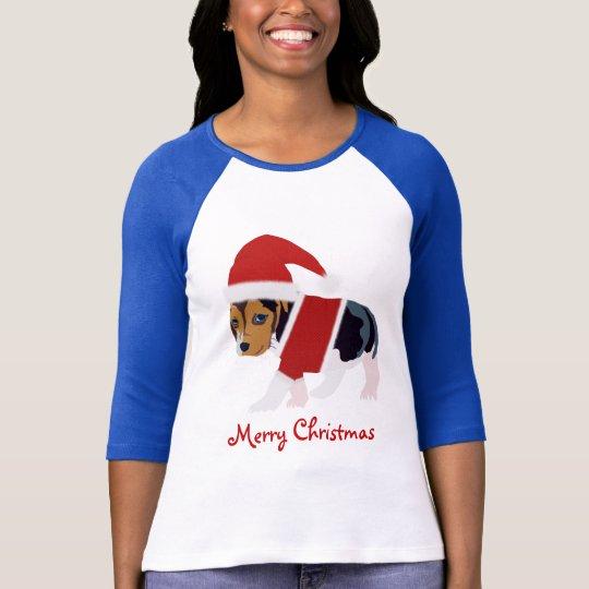 Christmas Dog T-Shirt - Customizable