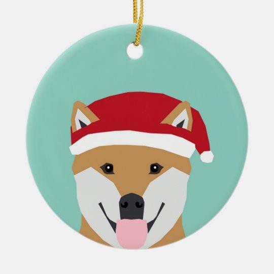 Christmas Doge Ornament - shiba inu christmas dog - Christmas Doge Ornament - Shiba Inu Christmas Dog Zazzle.com
