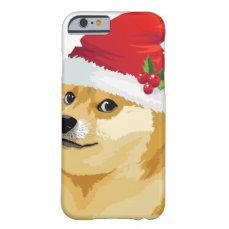 Christmas doge - santa doge - christmas dog barely there iPhone 6 case