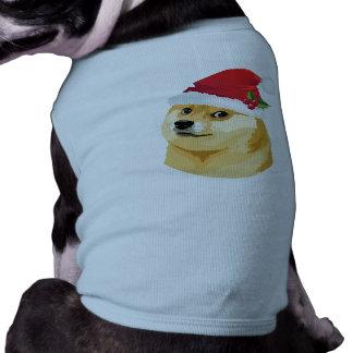 Christmas doge - santa doge - christmas dog tee