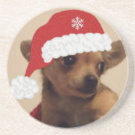 Christmas Doggie Drink Coasters