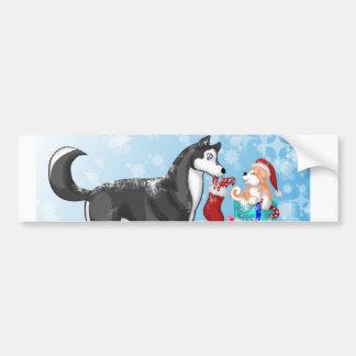Christmas Doggies! Bumper Sticker