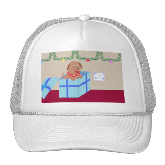 Christmas Doggy Mesh Hat