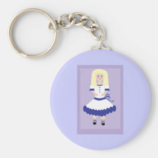Christmas Doll Keychain