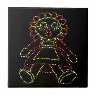 Christmas Dolls (Jack and Jill) ZZ 2016 Tile