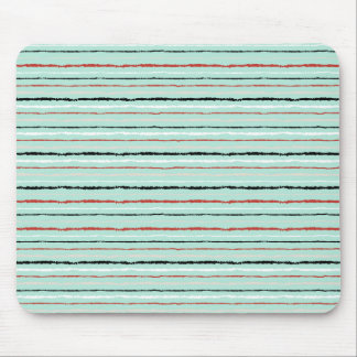 Christmas doodles colorful line pattern mouse pad