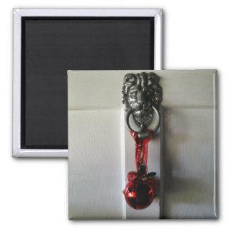 Christmas Door Knocker Magnet