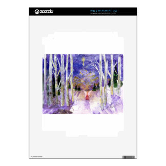 Christmas Dove Angel Decal For iPad 2