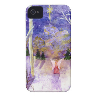 Christmas Dove Angel iPhone 4 Case