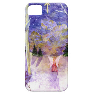 Christmas Dove Angel iPhone SE/5/5s Case
