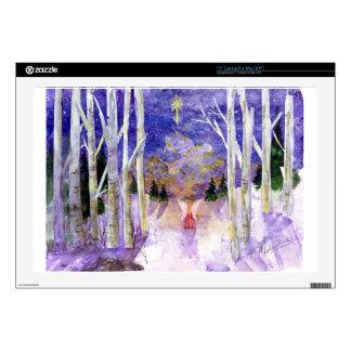 """Christmas Dove Angel Skin For 17"""" Laptop"""
