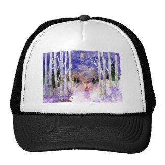 Christmas Dove Angel Trucker Hat