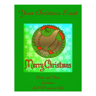 "Christmas Dove 8.5"" X 11"" Flyer"