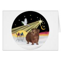 Christmas Dove - Guinea Pig 3 Card