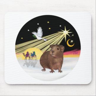 Christmas Dove - Guinea Pig 3 Mouse Pad