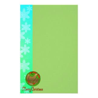 Christmas Dove Stationery Design