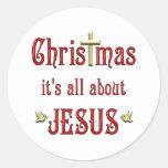 Christmas Doves Sticker