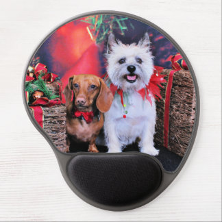 Christmas - Doxie Butch - Cairn Stella Gel Mouse Mat