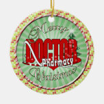 CHRISTMAS DR DOCTOR PHARMACY CHRISTMAS ORNAMENTS